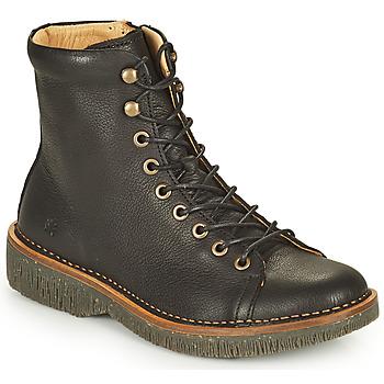 kengät Naiset Bootsit El Naturalista VOLCANO Musta