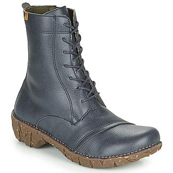 kengät Naiset Bootsit El Naturalista YGGDRASIL Laivastonsininen