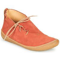kengät Naiset Bootsit El Naturalista PAWIKAN Punainen