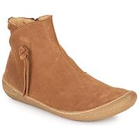 kengät Naiset Bootsit El Naturalista PAWIKAN Ruskea