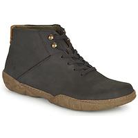 kengät Miehet Bootsit El Naturalista TURTLE Musta