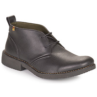 kengät Miehet Bootsit El Naturalista YUGEN Musta