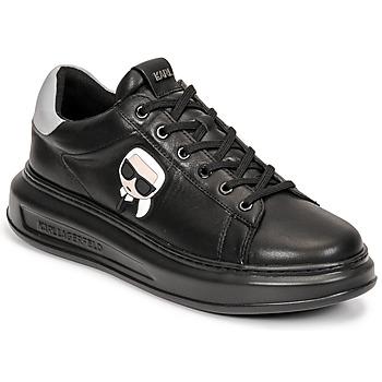 kengät Miehet Matalavartiset tennarit Karl Lagerfeld KAPRI MENS KARL IKONIC 3D LACE Musta