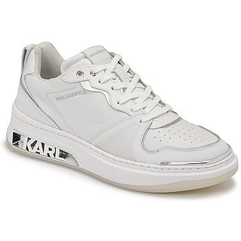 kengät Naiset Matalavartiset tennarit Karl Lagerfeld ELEKTRA LAY UP LO Valkoinen