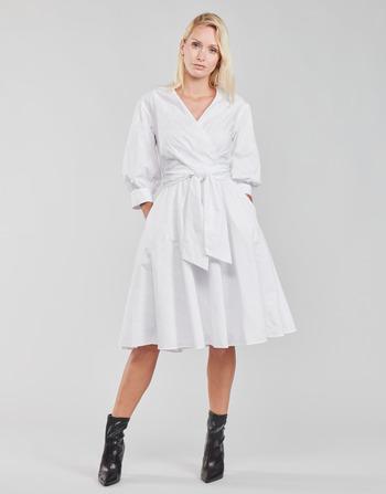 Karl Lagerfeld LOGO EMROIDERED SHIRT DRESS