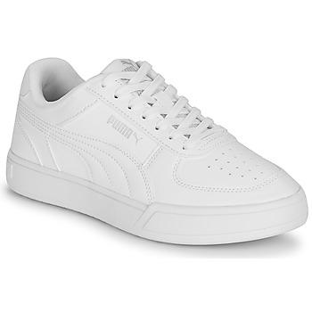 kengät Lapset Matalavartiset tennarit Puma CAVEN JR Valkoinen