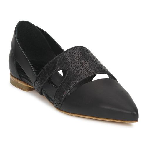 kengät Naiset Balleriinat McQ Alexander McQueen 318321 Black