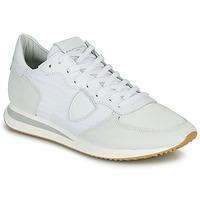kengät Miehet Matalavartiset tennarit Philippe Model TRPX LOW BASIC Valkoinen