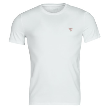 vaatteet Miehet Lyhythihainen t-paita Guess CN SS CORE TEE Valkoinen