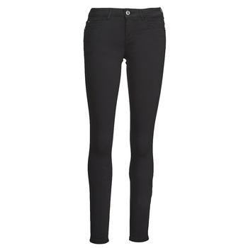 vaatteet Naiset 5-taskuiset housut Guess CURVE X Musta