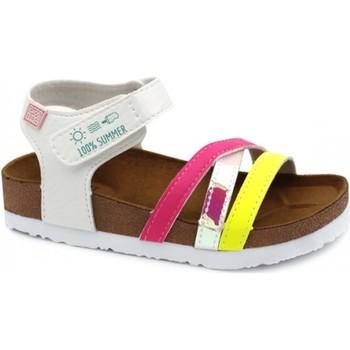 kengät Tytöt Sandaalit ja avokkaat Gioseppo CHANCLAS NIÑA  REID 62326 Valkoinen