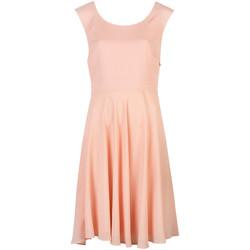vaatteet Naiset Lyhyt mekko Patrizia Pepe  Vaaleanpunainen