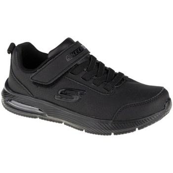 kengät Lapset Matalavartiset tennarit Skechers Dynaair Fast Pulse Mustat