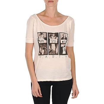 vaatteet Naiset Lyhythihainen t-paita Bench CREEPTOWN Pink