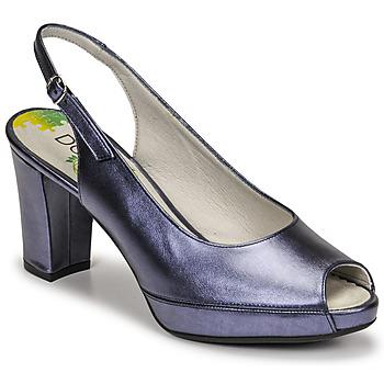 kengät Naiset Korkokengät Dorking MODALIA Laivastonsininen