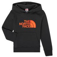 vaatteet Pojat Svetari The North Face DREW PEAK HOODIE Musta