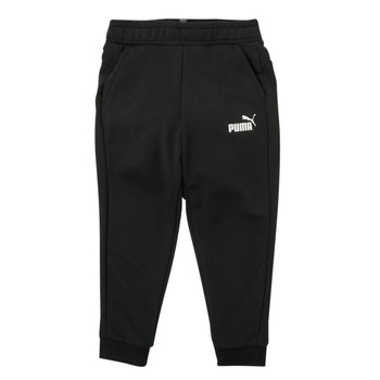 vaatteet Pojat Verryttelyhousut Puma ESSENTIAL SLIM PANT Musta