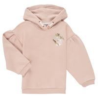 vaatteet Tytöt Svetari Puma ALPHA HOODIE Vaaleanpunainen