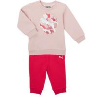 vaatteet Tytöt Kokonaisuus Puma Minicats ALPHA Crew Jogger FL Vaaleanpunainen