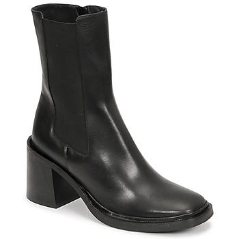 kengät Naiset Nilkkurit Jonak DANUBE Musta