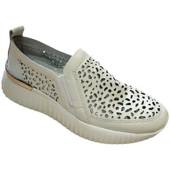 kengät Naiset Mokkasiinit Susimoda SUSI4056bia bianco