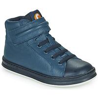 kengät Lapset Korkeavartiset tennarit Camper RUNNER Sininen