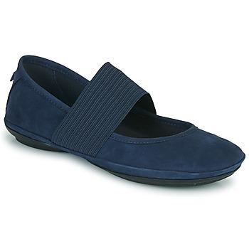 kengät Naiset Balleriinat Camper RIGHT NINA Sininen