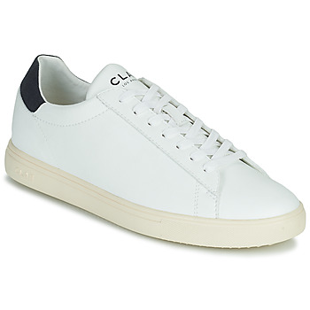 kengät Matalavartiset tennarit Clae BRADLEY VEGAN Valkoinen / Sininen