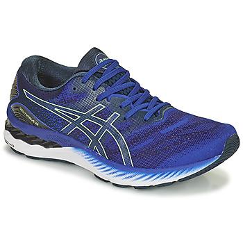 kengät Miehet Juoksukengät / Trail-kengät Asics GEL-NIMBUS 23 Sininen
