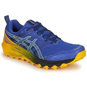 kengät Miehet Juoksukengät / Trail-kengät Asics GEL-Trabuco 9 Sininen / Keltainen