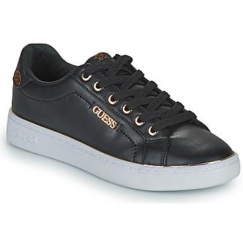 kengät Naiset Matalavartiset tennarit Guess BECKIE Musta
