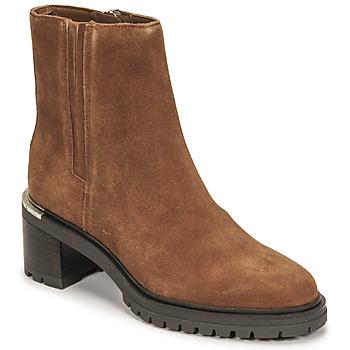kengät Naiset Bootsit Tommy Hilfiger TH OUTDOOR MID HEEL BOOT Konjakki