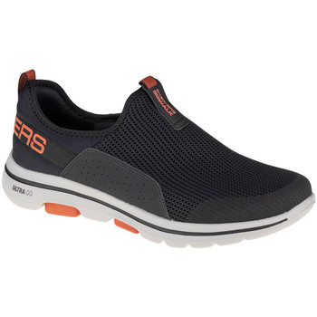kengät Miehet Tennarit Skechers Go Walk 5 Downdraft Noir