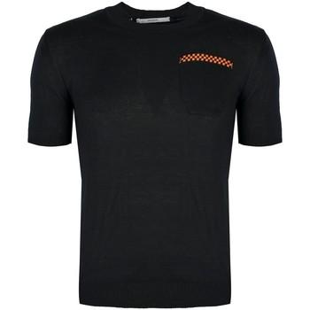 vaatteet Miehet Lyhythihainen t-paita Takeshy Kurosawa  Musta
