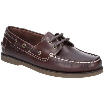 kengät Miehet Purjehduskengät Hush puppies  Brown