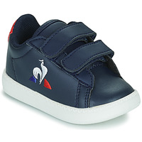 kengät Lapset Matalavartiset tennarit Le Coq Sportif COURTSET INF Sininen