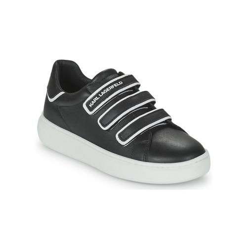 kengät Lapset Matalavartiset tennarit Karl Lagerfeld GOLINDA Musta