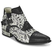 kengät Miehet Derby-kengät New Rock M-NW135-C12 Valkoinen / Musta