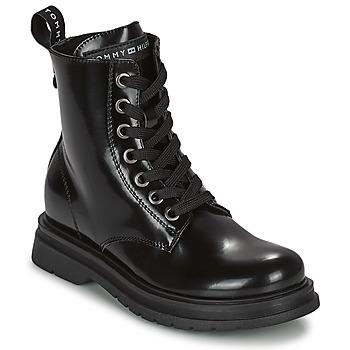 kengät Tytöt Bootsit Tommy Hilfiger T4A5-32009-0776999 Laivastonsininen