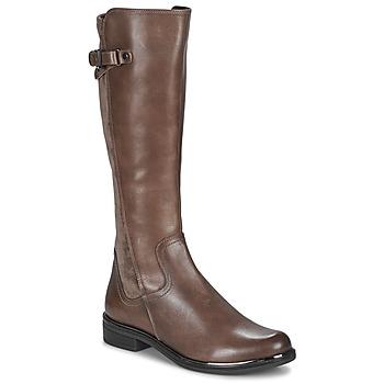 kengät Naiset Saappaat Caprice 25504-361 Taupe
