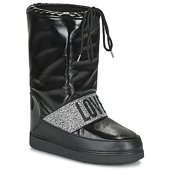 kengät Naiset Talvisaappaat Love Moschino JA24042G1D Musta