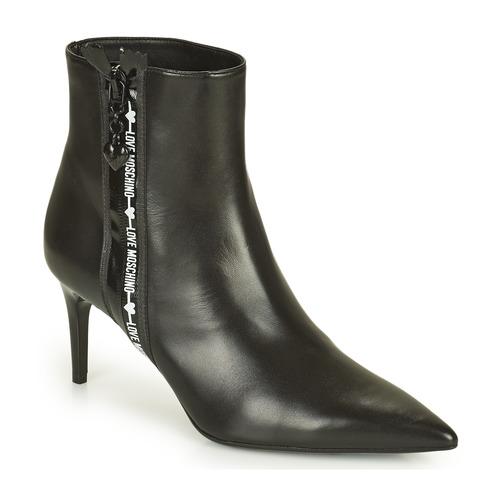 kengät Naiset Nilkkurit Love Moschino JA21107G1D Musta