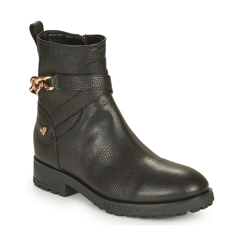 kengät Naiset Bootsit Love Moschino JA21084G1D Musta