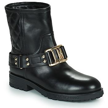 kengät Naiset Nilkkurit Love Moschino JA21224G0D Musta