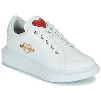 kengät Naiset Matalavartiset tennarit Love Moschino JA15204G0D Valkoinen