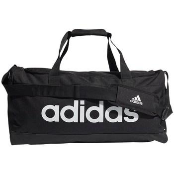 laukut Urheilulaukut adidas Originals Linear Duffel M Valkoiset, Mustat