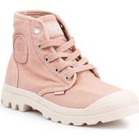 kengät Naiset Korkeavartiset tennarit Palladium Manufacture US Pampa HI Vaaleanpunaiset
