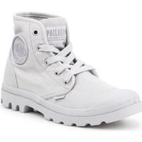 kengät Naiset Korkeavartiset tennarit Palladium Manufacture Pampa HI Harmaat