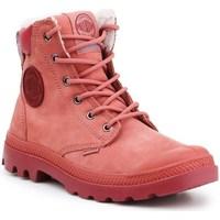 kengät Naiset Talvisaappaat Palladium Manufacture Pampa Sport Cuff Wps Punainen