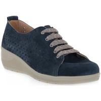 kengät Miehet Derby-kengät Grunland BLU 68DAPE Blu